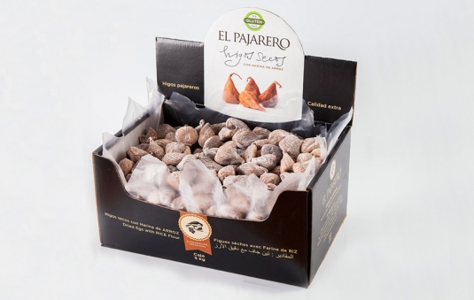 Dried figs in bulk, 5kg box